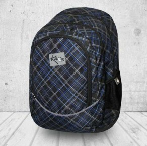 Dark tweed backpack