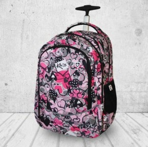 Heartbeat backpack 2in1