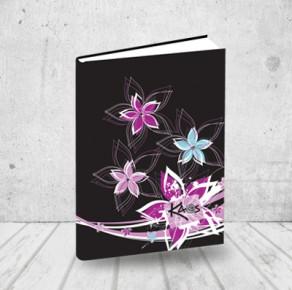 Dream flowers notebook